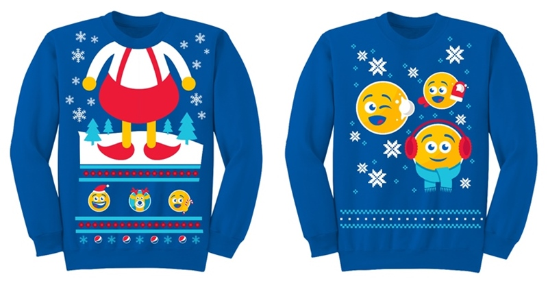 Pepsi Holiday Emoji Collection Comes with Holiday Sweatshirts