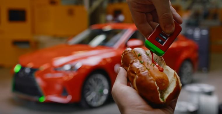 Sriracha Car or When Things Really Go Too Far