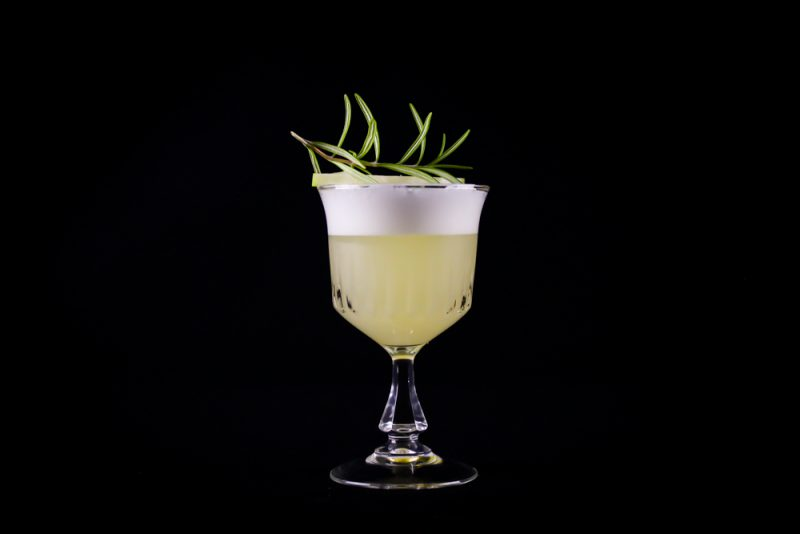 The Perfect Apple Rosemary Cocktail