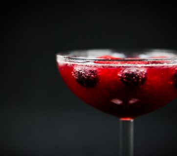 How To Make a Sangria Champagne Cocktail