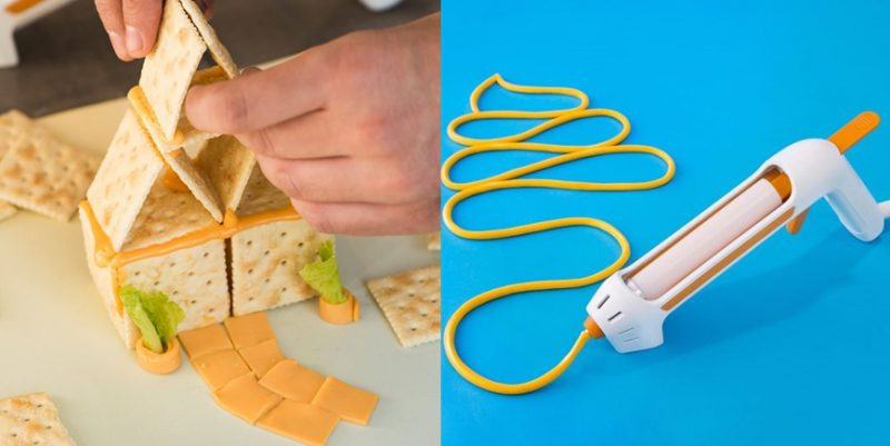 The Cheese Glue Gun Is Finally Here, Check out the Fondoodler