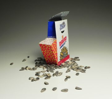 Clever Snack Packaging For Sunflower Seeds