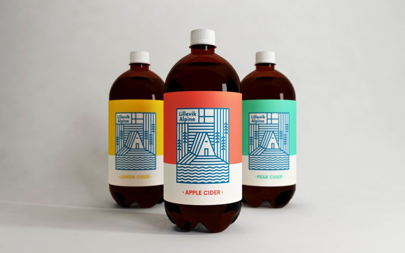 Lillevik Alpine Cider Is Inspired by Norway And Looks Great