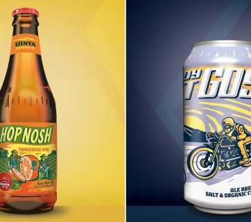 Uinta Brewing Beer Packaging Is Top Class