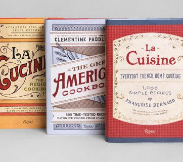 Vintage Styled Cookbook Series For Rizzoli Books