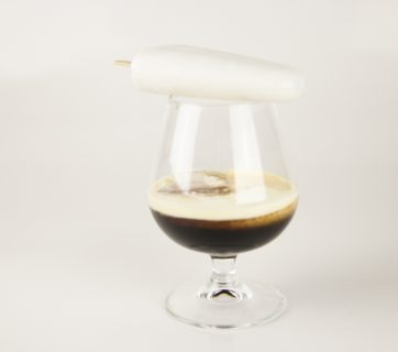 Coconut Kahlua Ice Pop Cocktail