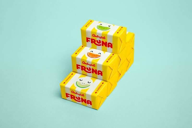 Fruna Candy Packaging from Peru Gets a Great Redesign