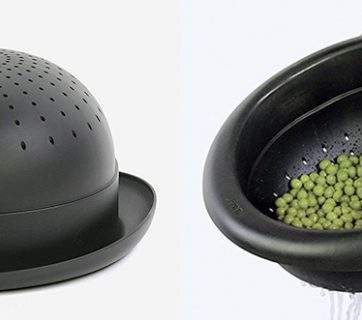 Pasta Strainer Hat - The Bowler Hat Colander Lets You Cook with Style