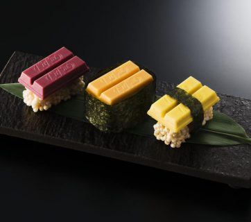 Sushi Kit Kat - No we don't need it but we still want to try it