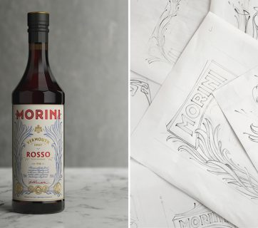 Vermouth Packaging Design That Stands Out for Morini Vermouth