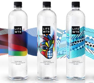 Pepsi Launches LIFEWTR With Great Packaging Design from Emerging Artists