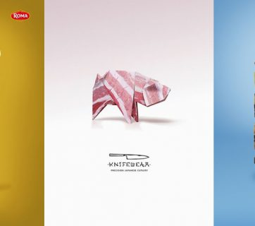 Check out this 25 Creative Food Print Ads, each one more clever than the next.
