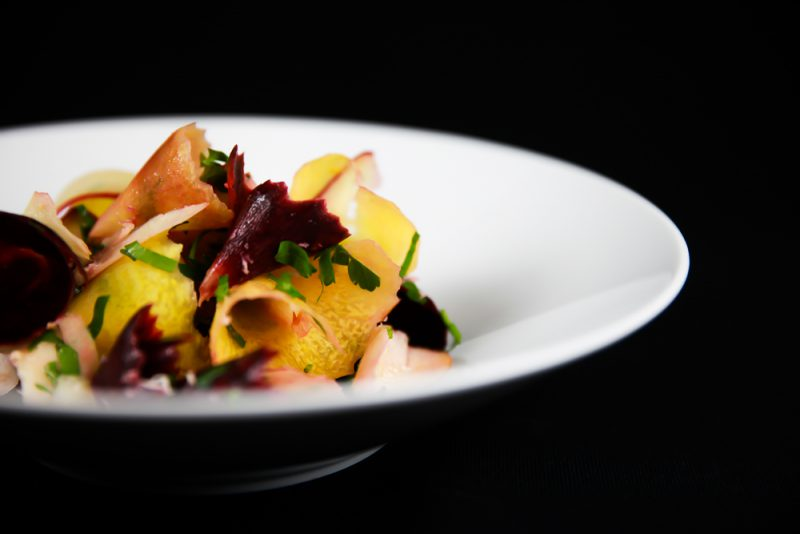 Carrot Apple Side Salad With Horseradish And Parsley