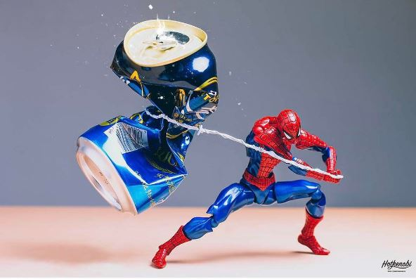 Superheroes Plays With Food In This Great Instagram Series