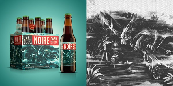 Great Craft Beer Packaging Design For Bayou Teche Brewing