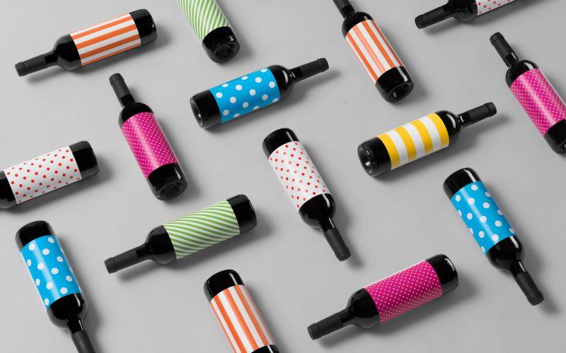 Wallpaper Wine Packaging Design For Novello Wine