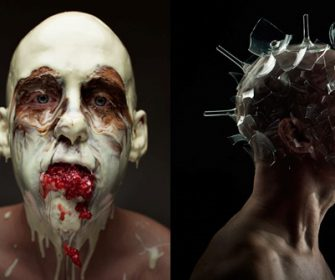 Food On Faces Art Food Photo Series Is Something You've Never Seen Before