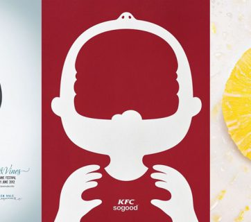 20 Negative Space Food Ads - Great Creative Print Ads