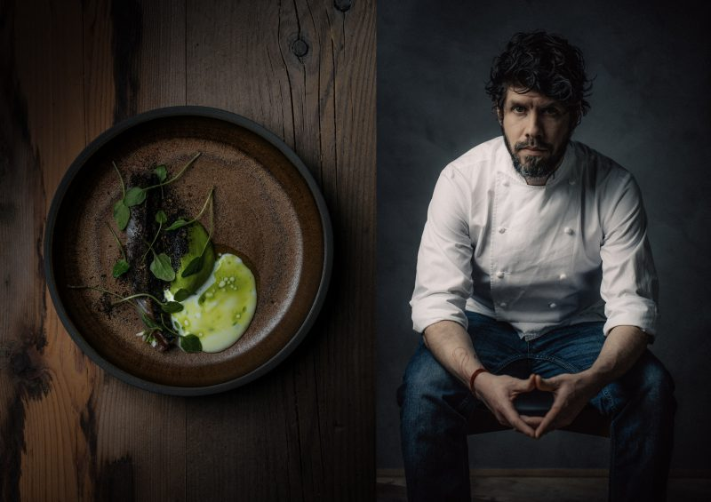 Paulo Airaudo of Amelia Restaurant San Sebastian Interview at Ateriet