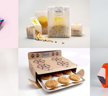 Awesome cookie packaging design