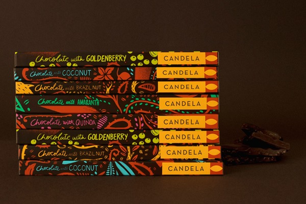 Candela Chocolate Packaging Looks Good Enough To Eat