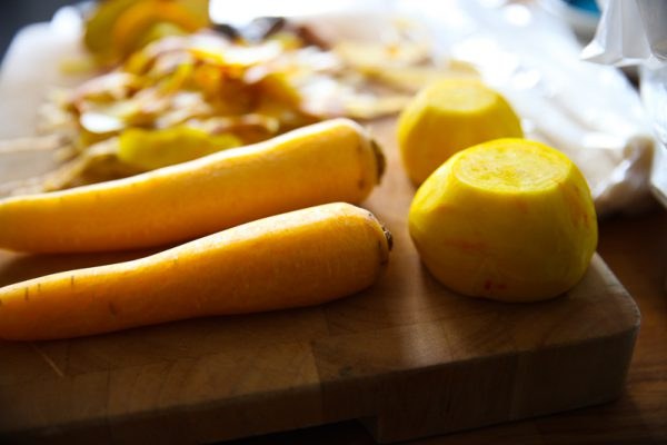 Pickled Yellow Beets and Carrots - A Great Quick Pickle Recipe