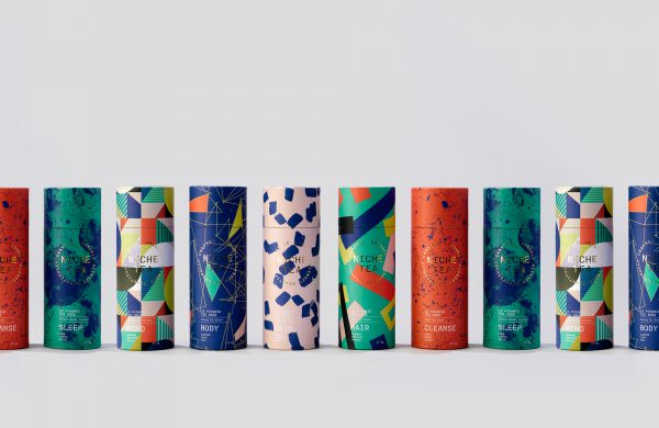Colorful Tea Packaging Design for NICHE Tea