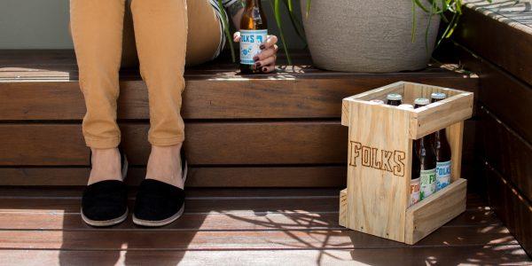 Folks Craft Brewery Beer Packaging Design