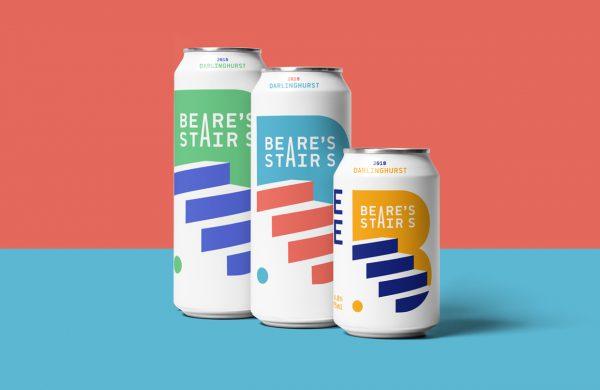 Beare's Stairs Beer Packaging And Branding