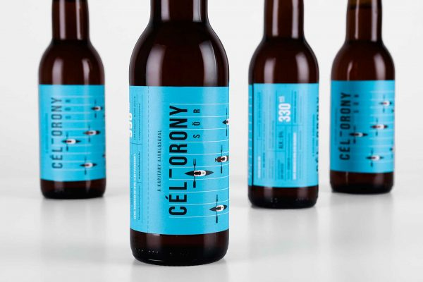 Céltorony Beer - A Beer To Drink While Watching Kayaks