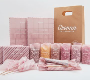Candy Cane Packaging Design and The History of Swedish Polkagrisar