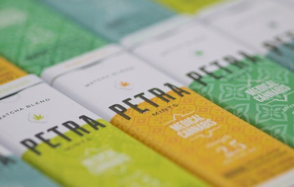 Mint Tin Packaging Design For Petra Mints