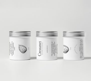 Nut Packaging With Clean Design For Cressanet