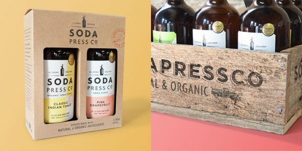 Soda Syrup Packaging Design for Soda Press Co