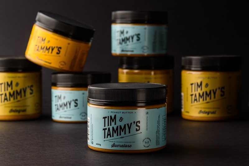 Tim and Tammy's Peanut Butter Packaging Design