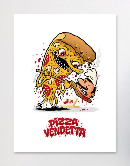 An Art Book All About Pizza Puns