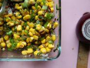 Chipotle Corn Salsa with Scallions
