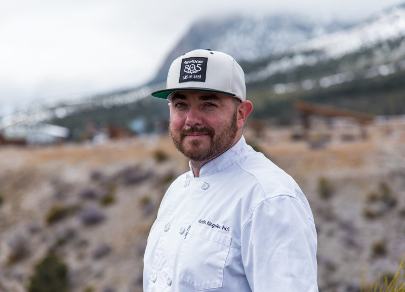 Chef Q&A with Justin Kingsley Hall of Sparrow + Wolf, Las Vegas