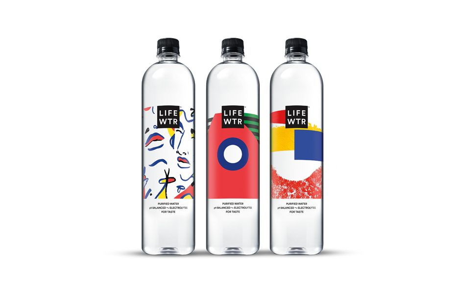 Pepsi Celebrates Women Artists The Second Design Series for LIFEWTR Bottles