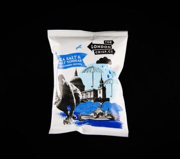 London Crisp Co Taste Test - Salt & Vinegar