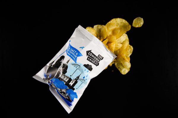 London Crisp Co Taste Test - Salt & Vinegar