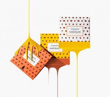 Port Wine Chocolate Packaging for Sandeman Meets Project
