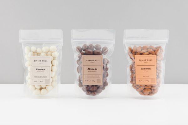 Summerhill Market Packaging and Branding