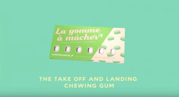 Chew Gum While You Fly With Air France