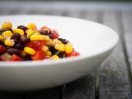 Spicy Corn Black Bean Side Salad with Tomatoes
