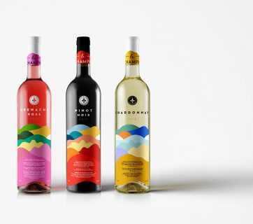 Limited Edition Wine Packaging for Champin