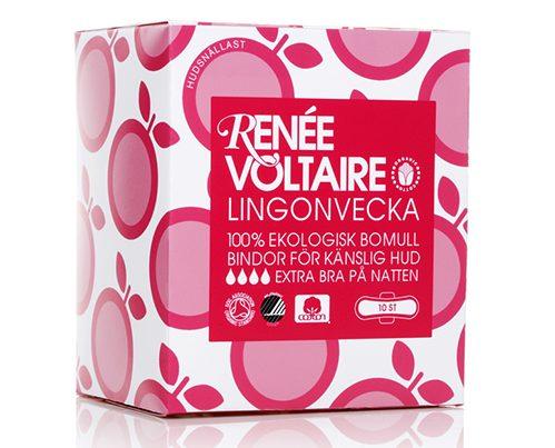 Lingonberry tampon Lingonvecka