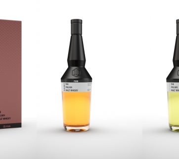 Italian Whisky In A Great Packaging - Check out Puni Whisky