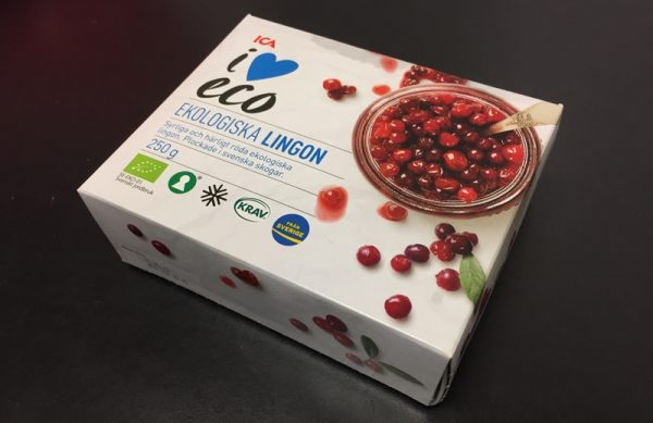 Lingonberry frozen lingonberries