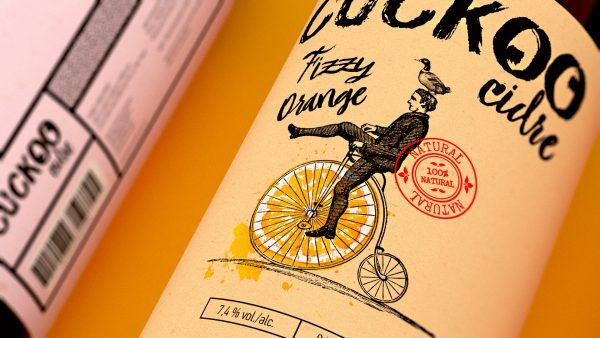 Cuckoo Cider Branding and Packaging Design